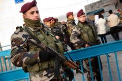 Polícia da autoridade palestina imagens de stock royalty free