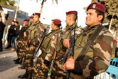 Polícia da autoridade palestina foto de stock royalty free