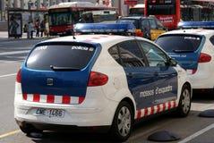 Polícia de Barcelona Imagem de Stock