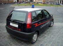Polícia de Carabinieri Fotografia de Stock Royalty Free