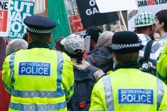 Polícia de Londres Imagem de Stock
