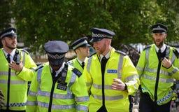 Polícia de Londres imagens de stock royalty free