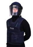 Polícia de motim Imagem de Stock