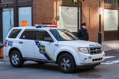 Polícia de Philadelphfia Fotografia de Stock