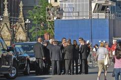 Polícia de segurança no dia de Canadá Imagens de Stock Royalty Free