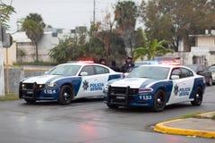 Polícia do estado de Tamaulipas fotografia de stock royalty free