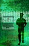 Polícia do Internet Foto de Stock