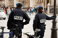 Polícia francês Foto de Stock Royalty Free