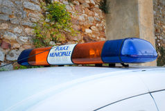 Polícia francesa Fotografia de Stock Royalty Free
