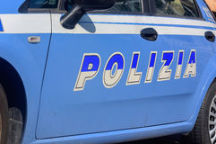 Polícia italiana Fotos de Stock
