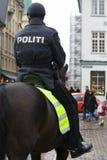 Polícia montada Fotografia de Stock