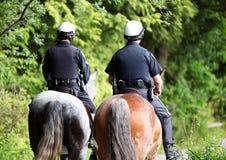 Polícia montada canadense Fotos de Stock