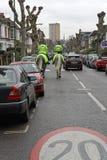 Polícia montada Londres Fotografia de Stock