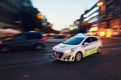 Polícia municipal da cidade de Praga fotografia de stock royalty free