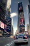 Polícia no Times Square Foto de Stock