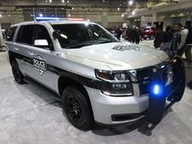 Polícia SUV de Chevrolet Fotografia de Stock Royalty Free