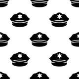 A polícia tampa o ícone Elemento de ícones do óleo para apps móveis do conceito e da Web O ícone do tampão do seamlesspolice da r ilustração do vetor