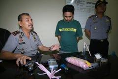 A polícia trava traficantes de drogas Foto de Stock Royalty Free