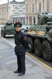 polícias Fotografia de Stock