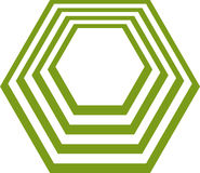 Polígono Imagen de archivo libre de regalías