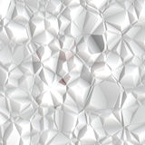 Polígono blanco Foto de archivo libre de regalías