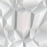 Polígono blanco Fotografía de archivo