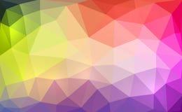 Polígono colorido Fotos de Stock Royalty Free