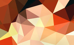 Polígono colorido Foto de Stock