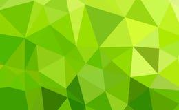 Polígono colorido Fotografia de Stock Royalty Free