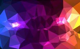 Polígono colorido Imagem de Stock