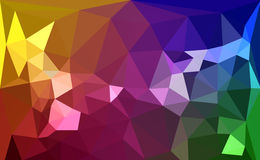 Polígono colorido Imagen de archivo