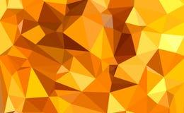 Polígono colorido Imagenes de archivo