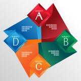 Polígono da aba Ilustração Stock