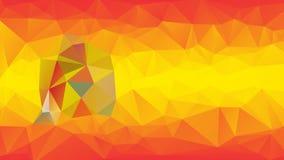 Polígono da bandeira da Espanha Fotos de Stock Royalty Free