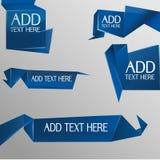 Polígono do texto da bolha Ilustração Stock