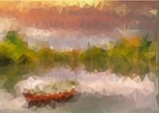 Polígono escénico Fotografía de archivo