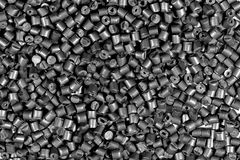 Polímero metálico gris Fotos de archivo