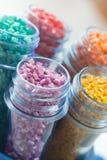 Polímero plástico Imagenes de archivo