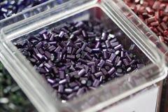 Polímero plástico Fotos de archivo