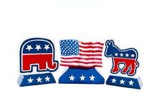 Política americana Imagens de Stock Royalty Free