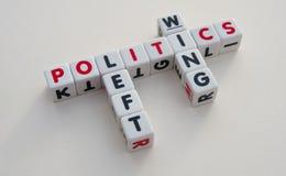 Política de la izquierda Imagen de archivo libre de regalías
