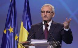 Política de Romênia - congresso de Partido Democratico Social fotografia de stock royalty free