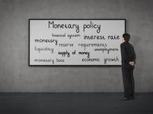 Política monetária Foto de Stock