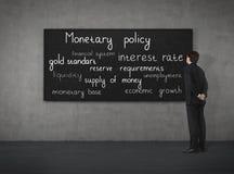 Política monetaria Foto de archivo libre de regalías