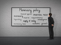 Política monetaria Foto de archivo