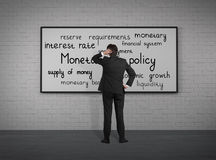 Política monetaria fotografía de archivo