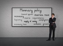 Política monetaria fotografía de archivo libre de regalías