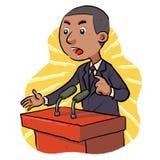 Político ilustração do vetor
