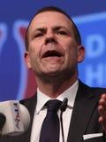 Político de la derecha austríaco Harald Vilimsky de FPÃ- Fotografía de archivo