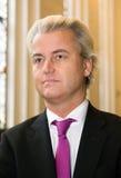 Político holandés Geert Wilders Foto de archivo